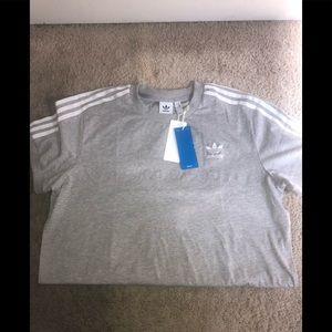 Adidas women's shirt 3 stripe Tee Shirt